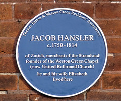 Photo of Blue plaque № 8758