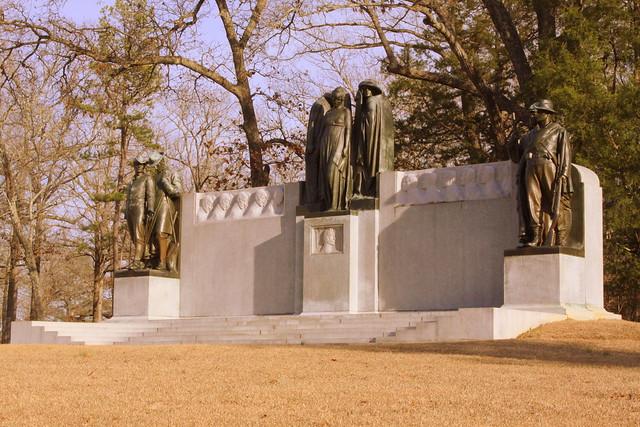 Shiloh Battlefield: The Confederate Monument