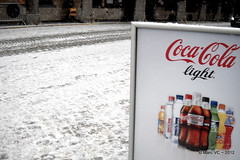 Fris (Marc VC) Tags: winter snow sneeuw sprite cocacola aquarius mechelen fanta drank cocacolalight minutemaid frisdrank cocacolazero chaudfontaine befferstraat