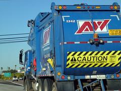 AW Garbage Truck (Photo Nut 2011) Tags: california trash truck garbage junk sandiego freeway waste refuse aw sanitation garbagetruck 1342 trashtruck wastedisposal alliedwaste