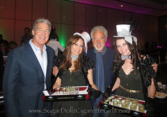 Cigarette Girls with Tom Jones (Bling Divas LA) Tags: vintage losangeles glamour hollywood showgirls corsets tomjones candygirls cigarettegirl industrials candygirl pillboxhats cigarettegirls privateparties corporateevents cigargirl cigargirls redcarpetevents popcorngirls industryparties cigartrays