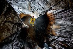 _IRB6820 (ChunkyCaver) Tags: pot limestone cave caving abseiling spelunking aven srt abseil caver irebyfellcavern jessburkey