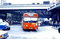 Slide 057-74 (Steve Guess) Tags: uk red england bus london station mba transport waterloo merlin gb arrow lambeth aec route507