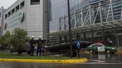 Costanera equivocada (Vicente_Valdivia) Tags: chile santiago southamerica boat cops police policia bote sudamerica pacos