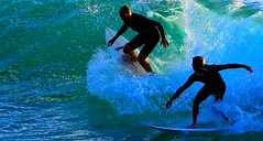 surfing in Tel-Aviv beach (Lior. L) Tags: sea beach telaviv wave surfing surfers actionphotography greenwave watertransparency surfingintelavivbeach
