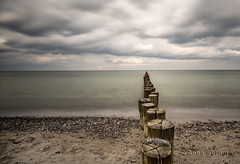 towards the sea (explore) (Anne.Berger) Tags: ocean longexposure beach strand meer balticsea langzeitbelichtung buhne