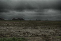 Black day (lglaveckas) Tags: black cold clouds dark landscape mood sad bad picture rainy friday muddy hdr