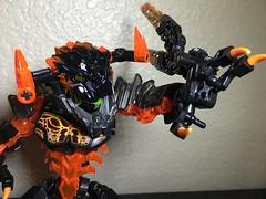 MOD: Lava Beast - 11 (stubs4limbs) Tags: bionicle ccbs stubs4limbs lego moc