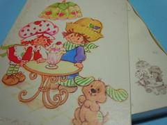 Strawberry Shortcake 80s Box Letter set (My Sweet 80s) Tags: 80s strawberryshortcake letterset lettersets vintagestationery anni80 fragolinadolcecuore cartadalettere augurimondadori vintagecartoleria boxletterset