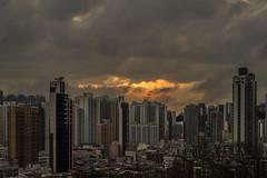 Melting sunset (kenlauky) Tags: leica sunset 50mm sony towers hong kong summicron kip shek mei a7