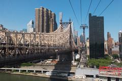View of Midtown New York from the Roosevelt Island Tram. (ho_hokus) Tags: nyc newyorkcity newyork spring manhattan queensborobridge rooseveltisland 59thstreetbridge rooseveltislandtram 2016 edkochqueensborobridge fujix20 fujifilmx20