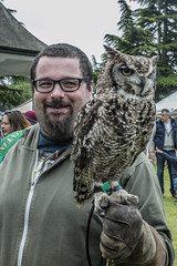 Ed & Owl 1 (Arthur Brown PHOTOGRAPHY) Tags: leicestershire canon1740mmf4l meltonmowbray canon5ds meltonshow2016