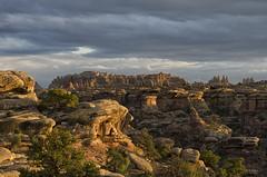 Sunset in Canyonlands (snowpeak) Tags: sunset utah canyonlandsnationalpark needlesdistrict nikond7000 nikon55300lens