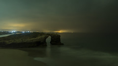 Nocturna (CeliaQuintillan) Tags: nightphotography night lugo ribadeo praiacatedrais playacatedrales