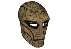 The Elder Scrolls V: Skyrim - Life Size Ordinator Mask Free Papercraft Download (PapercraftSquare) Tags: mask cosplay lifesize ordinator theelderscrolls skyrim theelderscrollsvskyrim