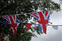 Bunting! (turini2) Tags: road birthday street party june her 90th queen woodside majesty 2016