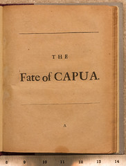 Southerne, The Fate of Capua (jaglazier) Tags: 1660ad1746ad 16601746 1stedition 1steditions 2016 71016 bloomington boyle capua charlesboyle codington copyright2016jamesaglazier england fateofcapua halftitle indiana july london morocco quartermorocco southerne thomassoutherne tooke tragedies tragedy usa benjamintooke books plays purplemorocco theater theatre unitedstates