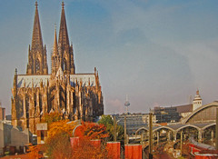 034 1524 (Jim D. Woodward) Tags: colognecathedral hohenzollernbridge