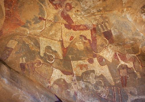 Rock  art in Laas Geel - Somaliland