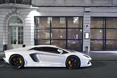 Ballin' (Luke Alexander Gilbertson) Tags: white london nikon flat londres customer pearl lamborghini londra rare exclusive f28 supercar matte v12 2470 hypercar d700 aventador lukegilbertson lp7004