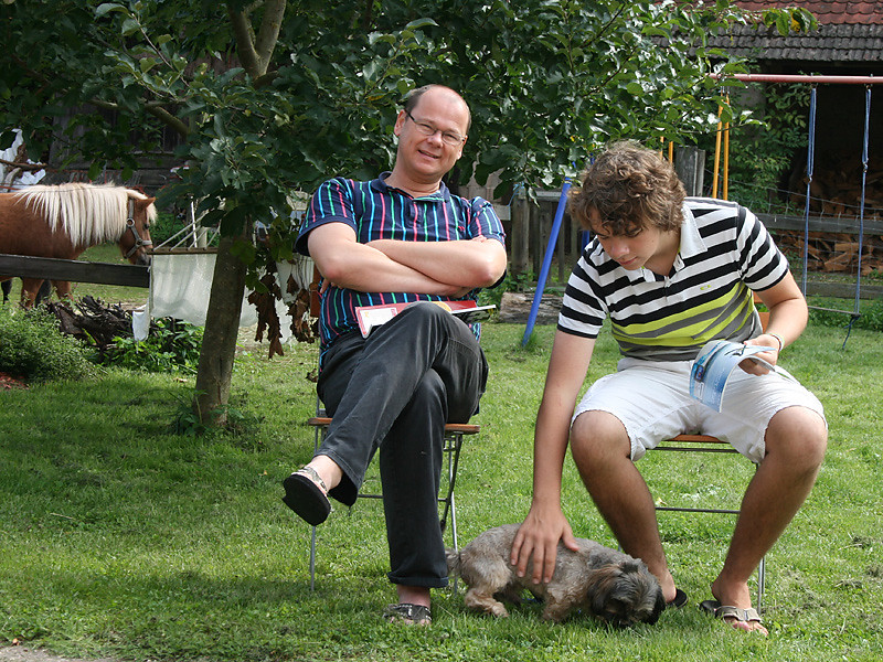 Entspannen mit Hund