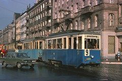 Poland Trams Wroclaw 11.10.75 by George of Dufton -