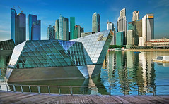 Louis Vuitton @ Marina Bay Singapore... (williamcho) Tags: fashion architecture buildings branded hotels banks offices louisvuitton financialcentre marinabaypromenade northpavilion marinabaysands marinabaysingapore d7000 olétusfotos ©williamcho classncityscape