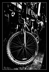 (*bomben*) Tags: street city toronto bike photography photo nikon photos tire tokina 28 d90 1116mm