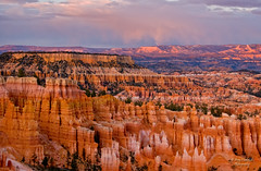 Bryce Canyon Sunset (Happy Photographer) Tags: sunset cloud rain canyon getty gettyimages brycecanyonnationalpark wow1 wow2 wow3 wow4 wow5 happyphotographer mygearandme amyhudechek