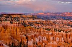 Bryce Canyon Sunset (Amy Hudechek Photography) Tags: sunset cloud rain canyon getty gettyimages brycecanyonnationalpark wow1 wow2 wow3 wow4 wow5 happyphotographer mygearandme amyhudechek