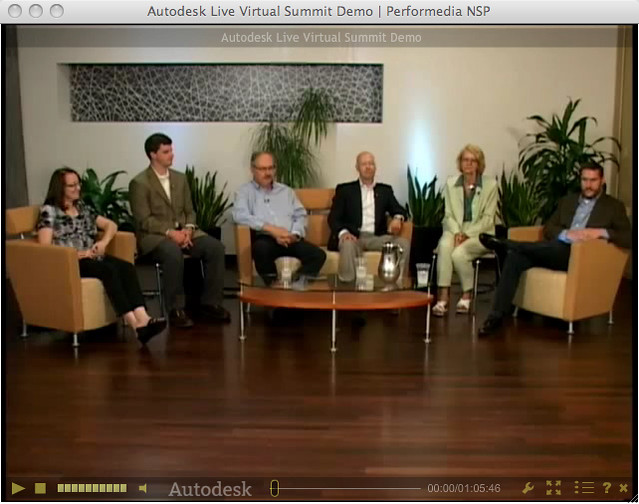Autodesk Virtual Summit by Performedia, the leader in Hybrid Events