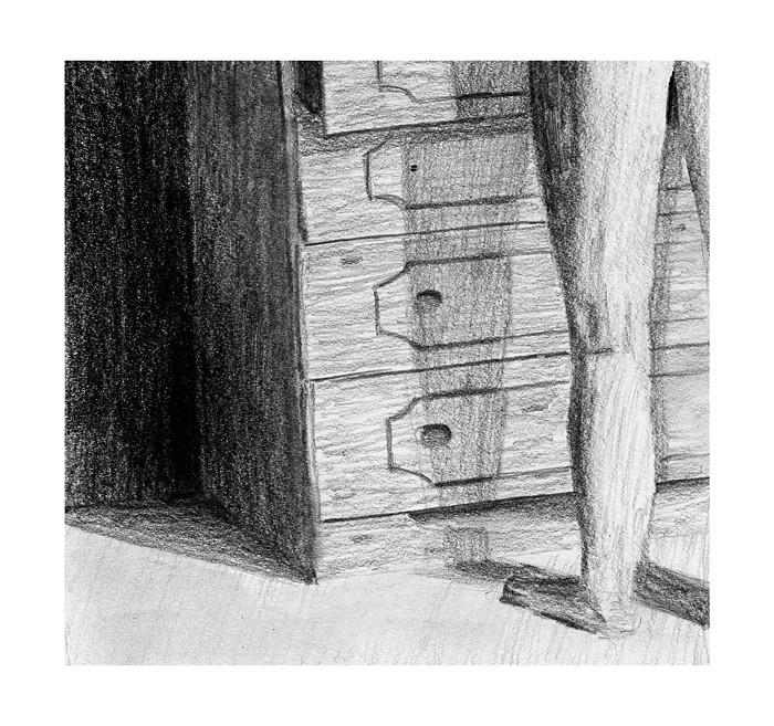 Bedroom Rich1078346 Tags Man Pencil Dark Drawing Scribbles Drawers