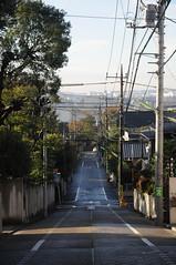 tokyo2862 (tanayan) Tags: road street urban japan tokyo alley nikon cityscape   slope setagaya  d5000