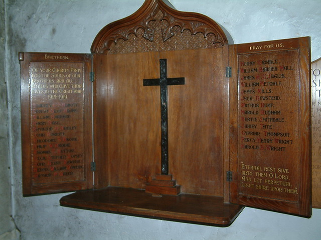 St Georges Tombland  - Great War Roll Of Honour
