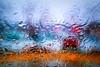 December Rain (Doug Wallick) Tags: abstract water rain minnesota drops colorful december crystal twincities windshield picnik lightroom a230 mygearandme