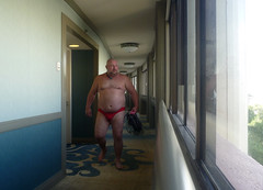 beach time has come and gone (wooferSTL) Tags: vacation hawaii hotel speedo royalhawaiian royalhawaiianhotel