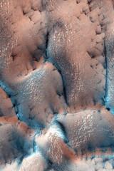 Martian Dunes Wallpaper (sjrankin) Tags: wallpaper mars ipod edited background nasa processed retina iphone retinaresolution 17december2011