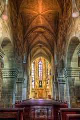 Inside the Parish Church in Bad Deutsch-Altenburg (Miroslav Petrasko (blog.hdrshooter.net)) Tags: church parish canon eos austria tripod religion bad sigma inside dslr pillars osterreich hdr deutsch altenburg 18200mm photomatix hainburg 450d theodevil hdrshooter