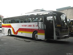 Victory Liner 100 (Next Base v2) Tags: victory liner 100 inc bus number capacity 45 2x2 seating configuration body hyundai motos korea model universe space luxury engine fare airconditioned aircon system overhead ac transmission mt shot location terminal cubao quezon city