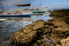 Grunge (JeneaWhat) Tags: boat philippines bohol balicasagisland