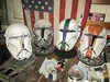 Delta Squad Progress (thorssoli) Tags: starwars costume helmet replica armor prop republiccommando deltasquad