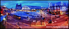 iPod Shuffle2 - Abandon City [ Liverpool Lime Street Dusk iPhone Panorama] (@HotpixUK -Add Me On Ipernity 500px) Tags: street uk blue england panorama west station st night nw dusk pano north smith tony hour join lime stitched joiner mersey iphone merseyside scouser stitcher scouse hotpix tonysmith iphone4 stitced tonysmithhotpix
