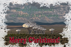 Seasons Greetings! [Explored] (Jim Purcell) Tags: newmexico radio very large observatory national astronomy magdalena vla array verylargearray datil socorrocounty nationalradioastronomyobservatory explored tucsonphotographer