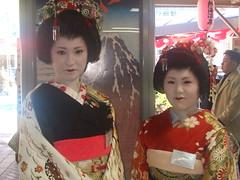 Maiko at Atami (Migg Express) Tags: japan maiko geisha atami
