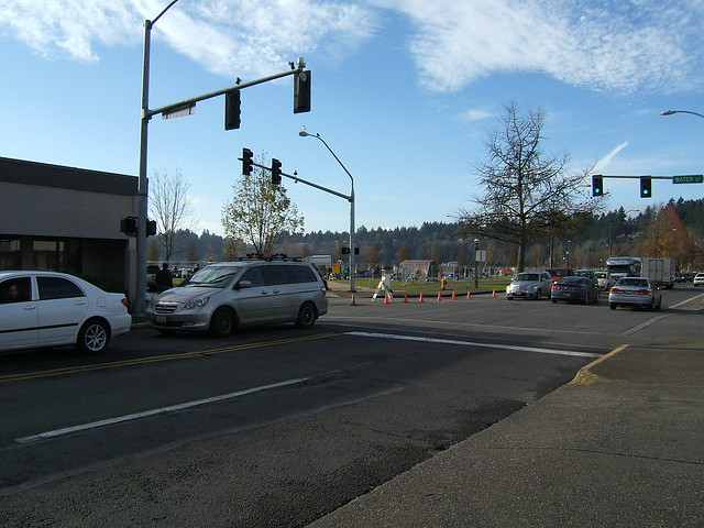 ROAD CLOSURE at the Corner