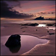 Bamburgh Castle dawn (Mike Ridley.) Tags: seascape dawn northumberland coastline canon1740mmf4lusm bamburghcastle leefilters canon5dmkll fellwalker1