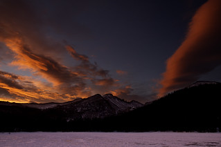 Sunrise over Long's Peak [Explore]