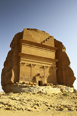 Al-Hijr World Heritage (Venerdi Pictures) Tags: world sculpture mountain color heritage sports nature landscape desert who top rocky un saudi arabia jeddah potrait saleh mekkah tabuk madain jiddah