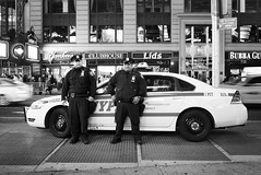 NYPD (D.J. De La Vega) Tags: new leica york square cops manhattan nypd times x1