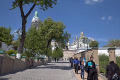 Kyiv Pechersk Lavra (2) (Dave-Gray) Tags: church ukraine monastery kiev kyiv trainjourney silkroute kievpechersklavra kyivpechersklavra tsrii